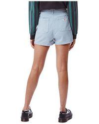 Obey Riviera Shorts Azul