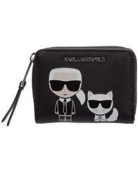 Karl Lagerfeld - Wallet ikonik capsule - Lyst
