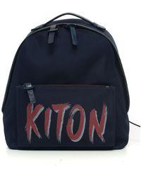 Kiton Rucksack - Blu