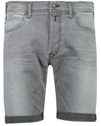 Replay Bermuda Shorts 573b826.096 - Grijs
