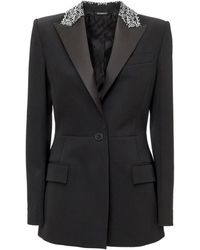 Givenchy Blazer With Embroideries - Zwart