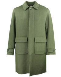 Hartford Manteau en laine - Vert