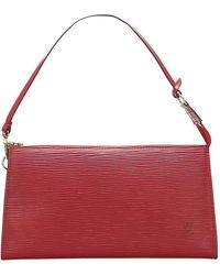 Louis Vuitton Epi Pochette Accessoires Leather - Rosso