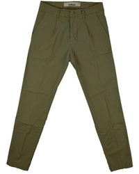 Haikure New Barcellona Gabardine Trousers - Grün