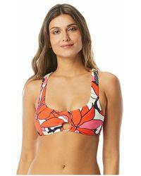 Vince Camuto Bikini Top Wild Lotus - Oranje