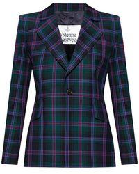Vivienne Westwood Checked Blazer - Groen