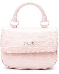 Liu Jo Top Handle Bag - Roze