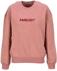 Ambush Knitwear Bwba005s21fle001 - Roze