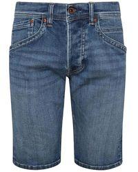Pepe Jeans Bermuda - Blauw