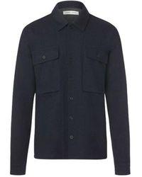 Samsøe & Samsøe Vega shirt 14088 - Bleu