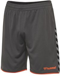 Hummel Authentic Poly Shorts - Grijs
