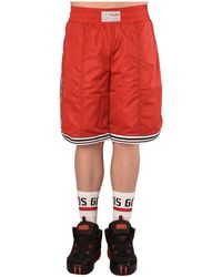 Gcds Bermuda Basket - Rood