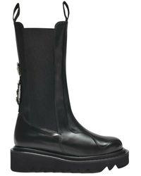 Toga Platform ankle boots - Negro