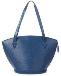 Louis Vuitton St-Jacques Shopping - Blau