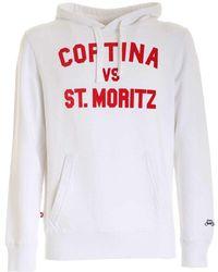 Mc2 Saint Barth Hoodie Tribeca Comr01 - Wit