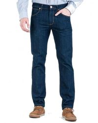 Wrangler Trousers W15q2655z - Blauw