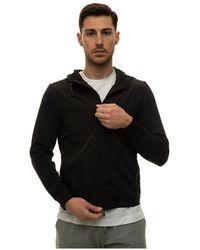 Canali Zip sweatshirt - Schwarz