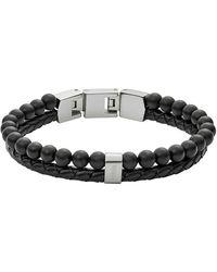 Fossil Jf02763040 bracelet - Noir