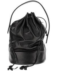 Jil Sander Bucket Bag - Zwart