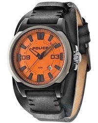 Police Watch P14200jsbu17 - Zwart