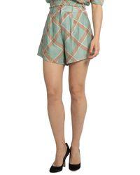 WEILI ZHENG Shorts - Groen