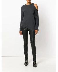 R13 Distorted Sweatshirt - Noir