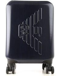 Emporio Armani Suitcases - Blu