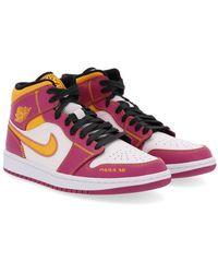Nike Air Jordan 1 Mid Dod Sneakers Rosa