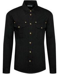 Versace Jeans Couture Camicia con dettagli bottoni - Noir