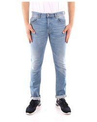 Blauer Shorts Azul