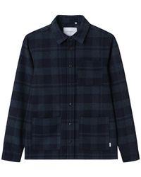 Les Deux Jason Check Shirt - Zwart