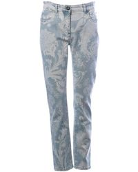 Etro - Jeans Con Stampa - Lyst