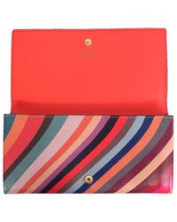 Paul Smith Continental Wallet - Rood