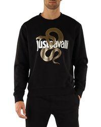 Just Cavalli Felpa - Zwart