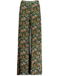 M Missoni Pantalone ampio floreale - Vert
