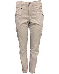 2-Biz Pantaloni Josly - Neutro