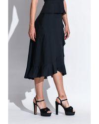 Pinko - Skirt Negro - Lyst