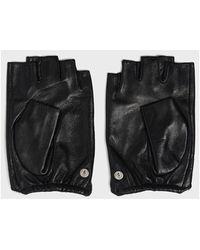 Karl Lagerfeld Signature gloves Negro