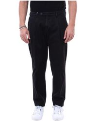 Michael Coal Trousers Frederick2505c - Zwart