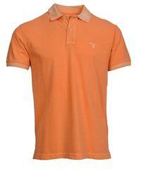 GANT Polo piqué Rugger - Orange