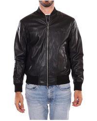 Armani Exchange Bomber Jacket - Zwart