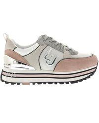 Liu Jo Sneakers Maxi Wonder 20 Sneaker - Roze