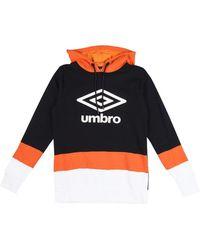 Umbro Logo Hoodie - Zwart