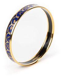 Hermès Enamel Bangle - Blu