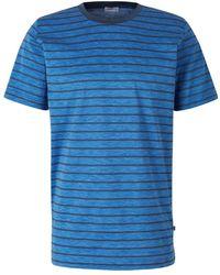 Zimmerli Striped Short Pajamas - Bleu