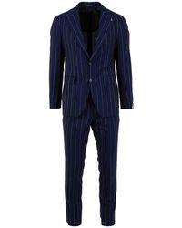 Tagliatore Suit - Blauw