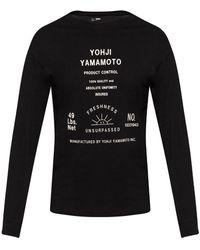 Y-3 T-shirt - Zwart