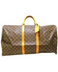 Louis Vuitton Keepall 60 - Braun