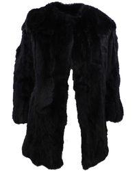 FRAME Coat - Zwart