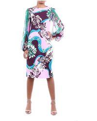 Emilio Pucci 0ejh450e747 Multicolor Dress - Roze
